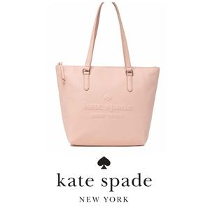 Kate Spade new york Pink Penny Leather Tote Bag